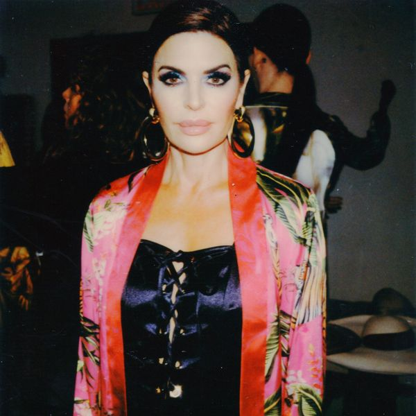 See Polaroids From Kyle Richards' NYFW Show