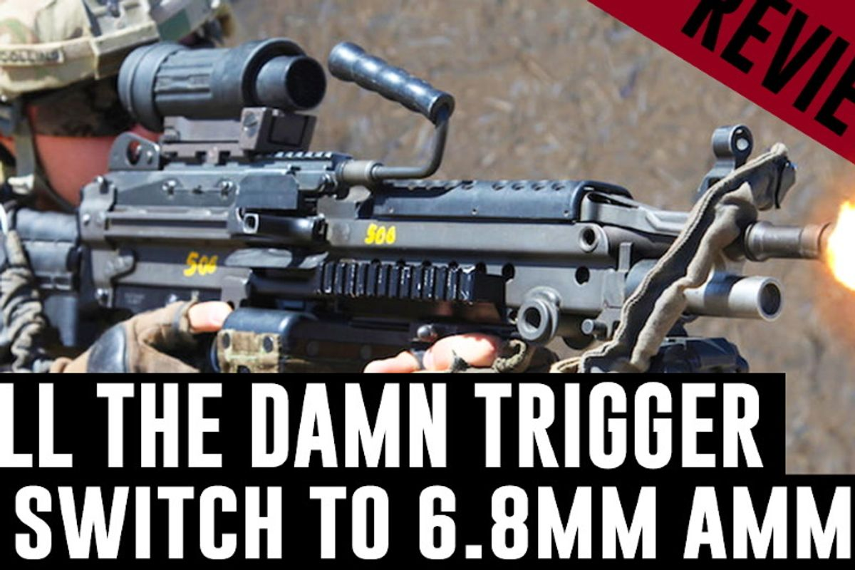 Ammo Firm Unveils 6 8mm Cartridge For New Army Squad Weapon