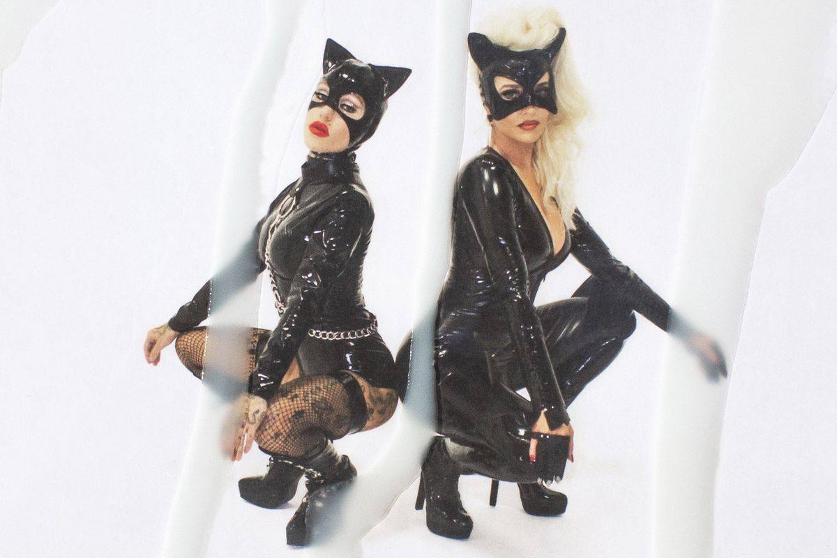 Brooke Candy and Erika Jayne Cosplay as Cunnilingus-Positive Cats