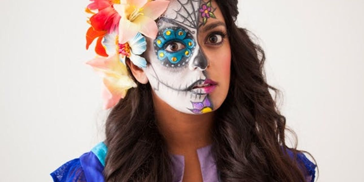How to Paint a Sugar Skull… On Your Face!