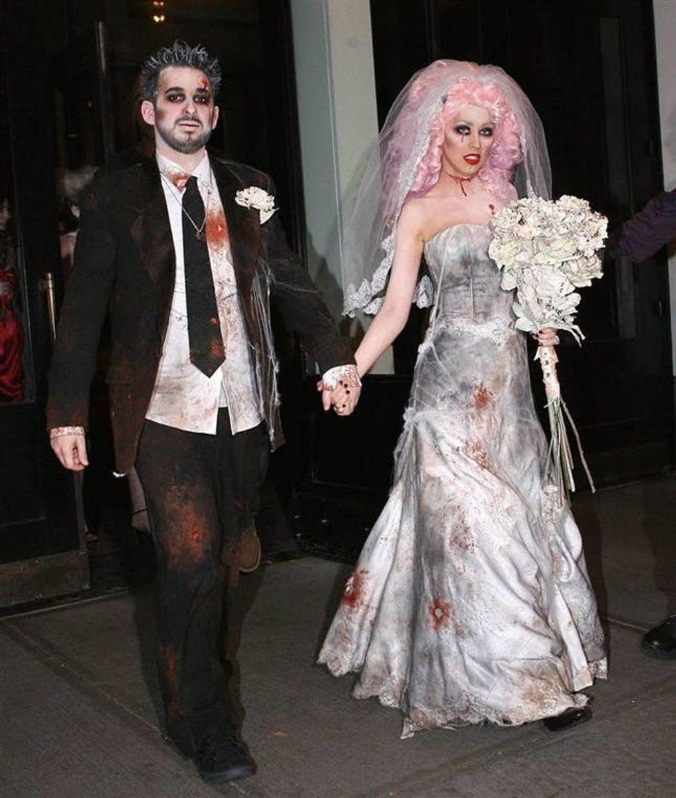 11 Pretty Scary Costume Ideas Brit Co
