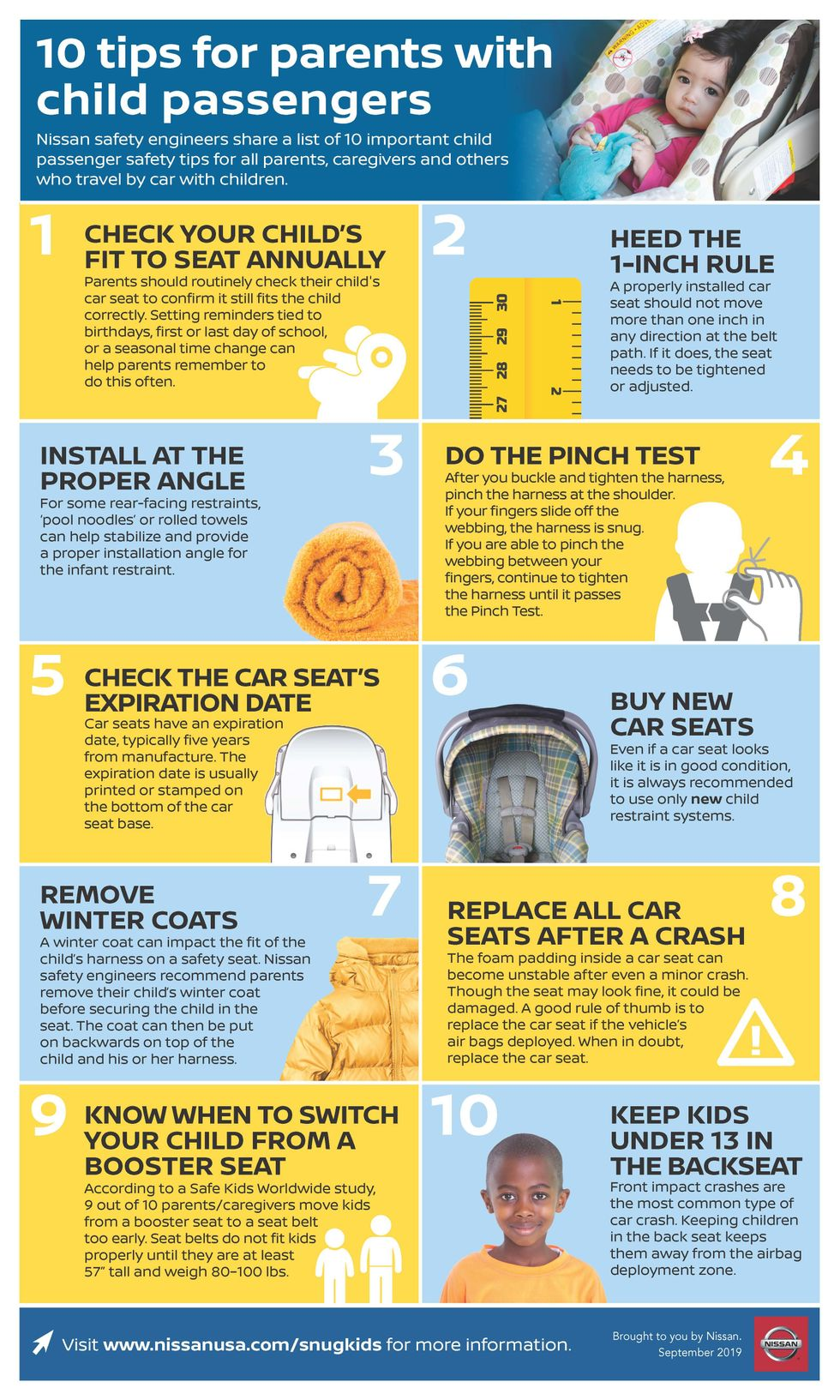 Nissan Car Seat Safety Guide