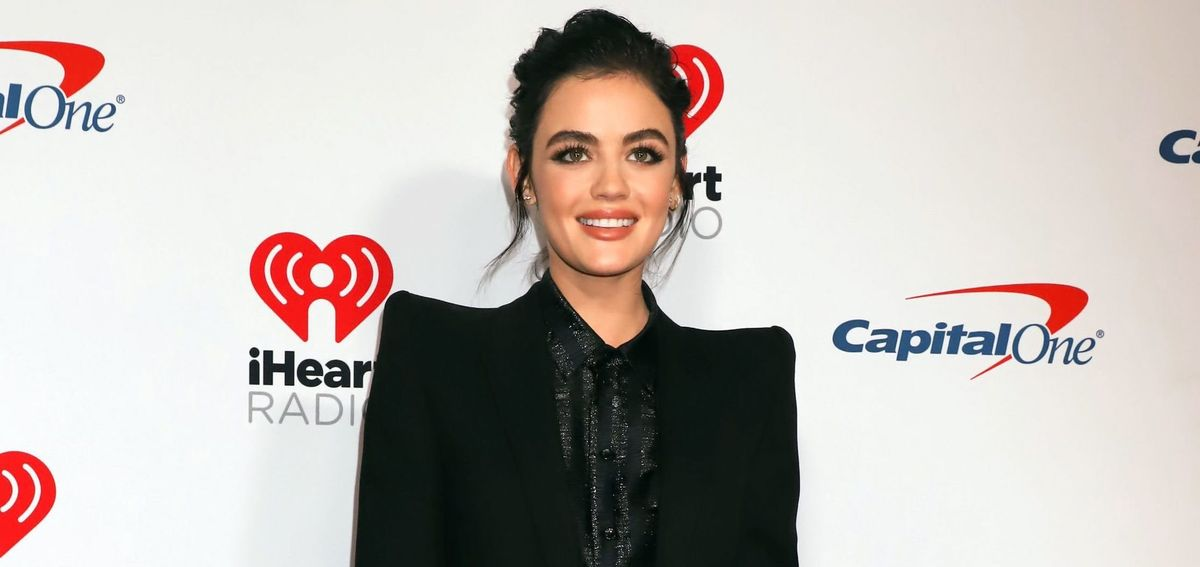 Let's Count All The Trends In Lucy Hale's All-Pink 'Katy Keene' Outfit