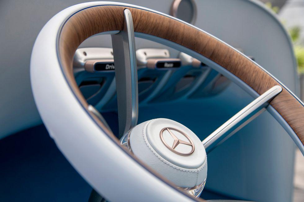 Vision Mercedes Simplex steering wheel