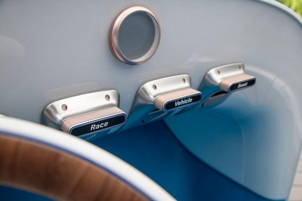 Vision Mercedes Simplex buttons