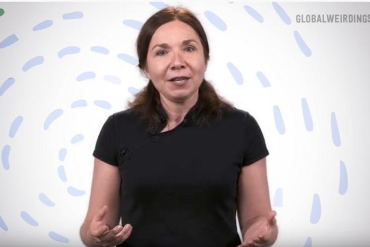 Dr. Katharine Hayhoe is an evangelical Christian climate scientist — and a breath of fresh air