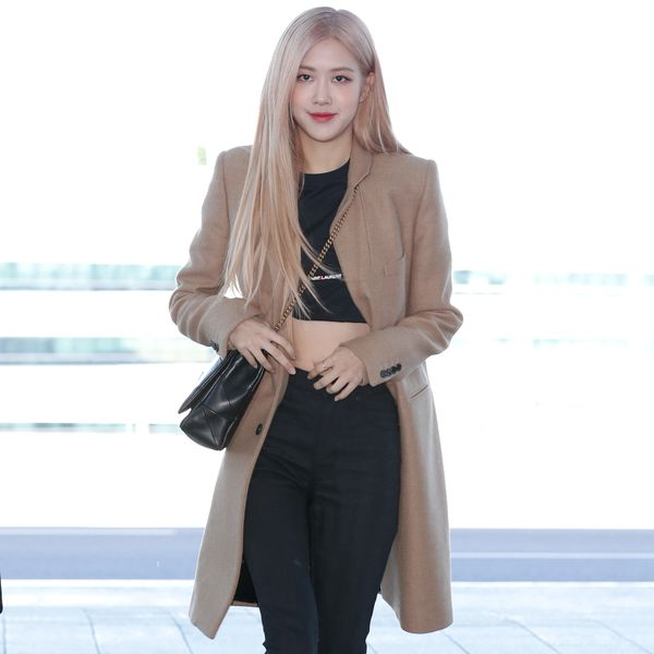 Rosé Makes First Fashion Week Appearance at YSL