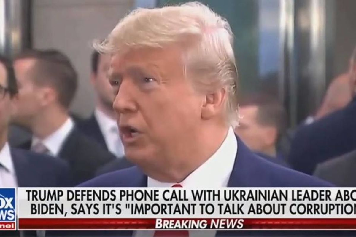 Fox News anchor rips Trump for his role in the Ukraine blackmail scandal