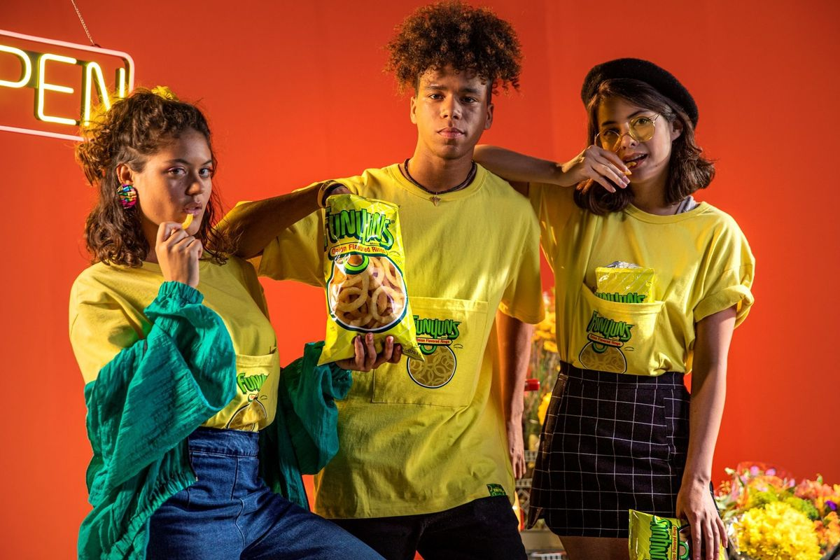Wear This Funyuns Pocket Tee With the KFC Bucket Hat