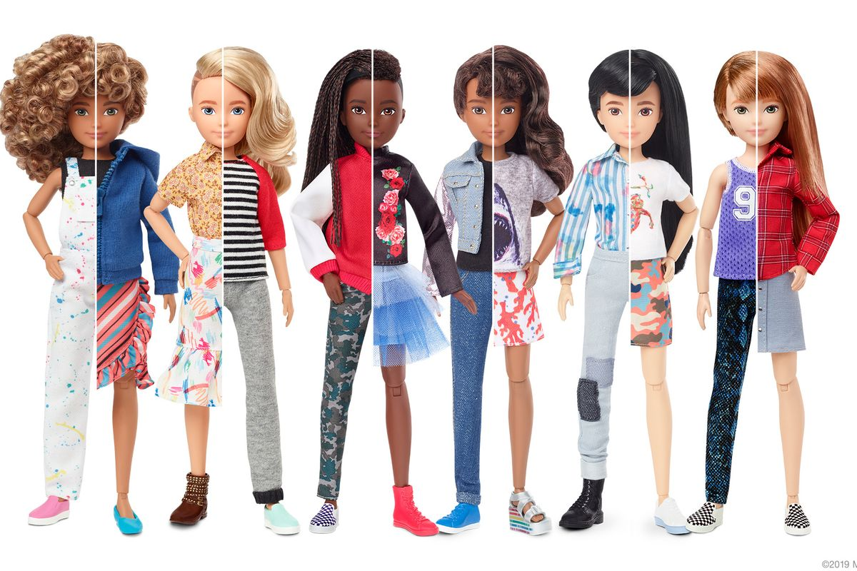 Mattel Introduces the World's First Gender-Neutral Doll
