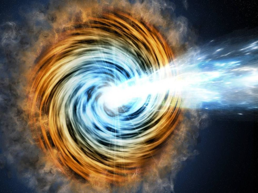 Astrophysicists: gamma-ray jets exceed the speed of light