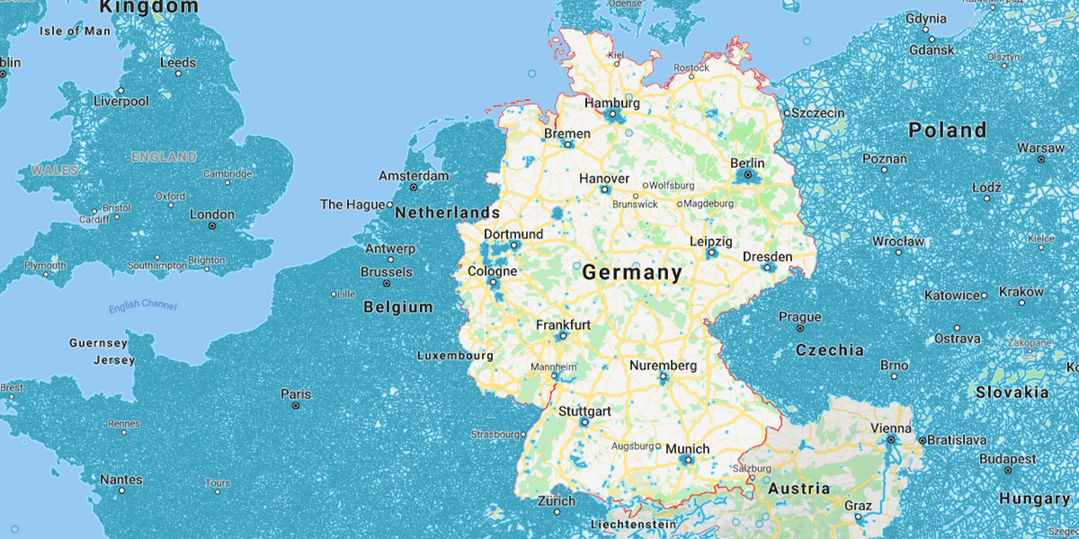 Why Germany is a blank spot on Google's Street View
