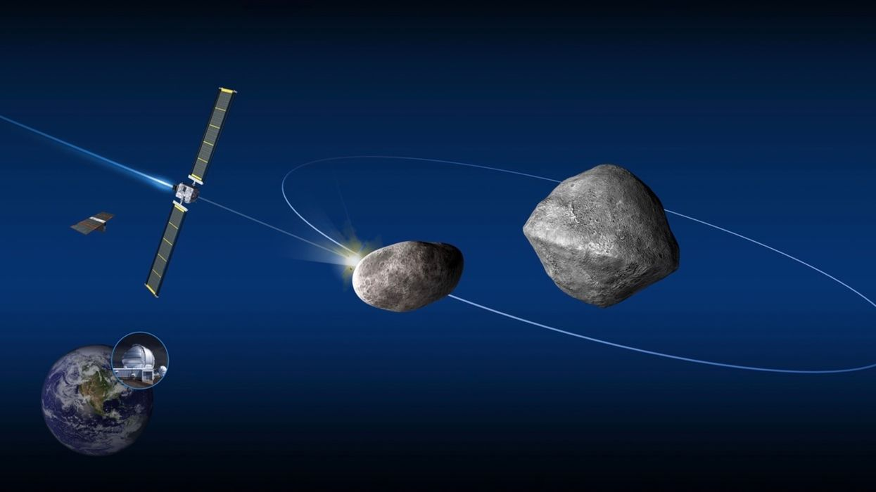 Experts decide to try knocking an asteroid off course