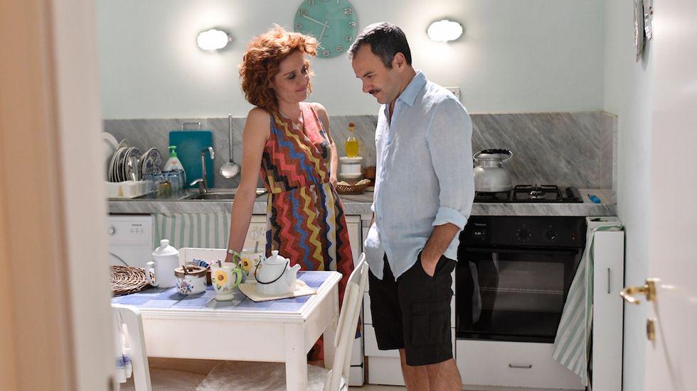 Vanessa Scalera e Massimiliano Gallo Imma Tataranni