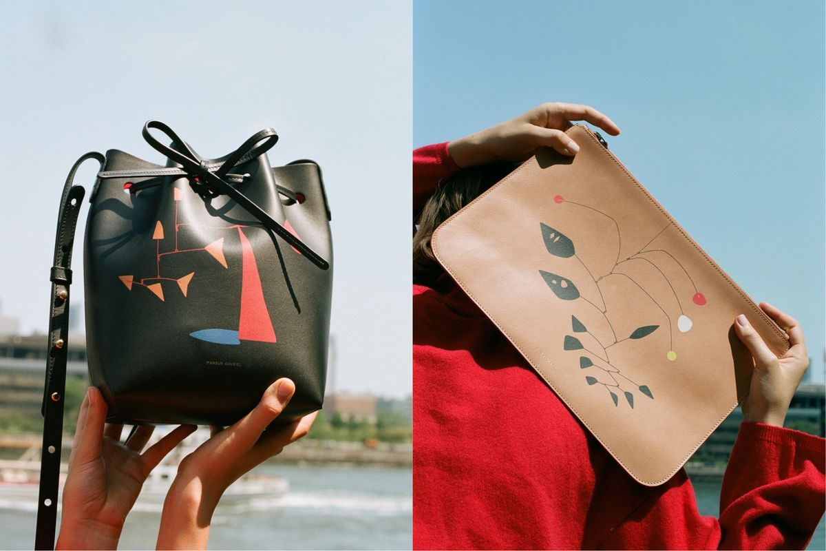 These Mansur Gavriel Bags Are Printed With Iconic Sculptures