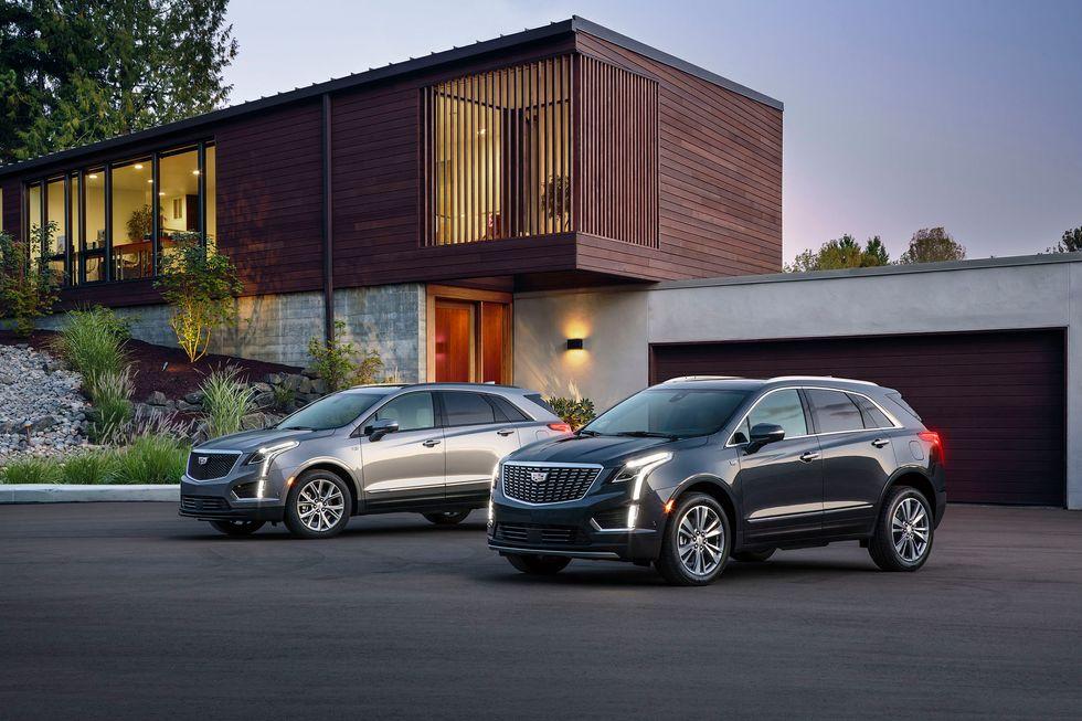 2020 Cadillac XT5 Premium Luxury Front Grille Wheels Exterior