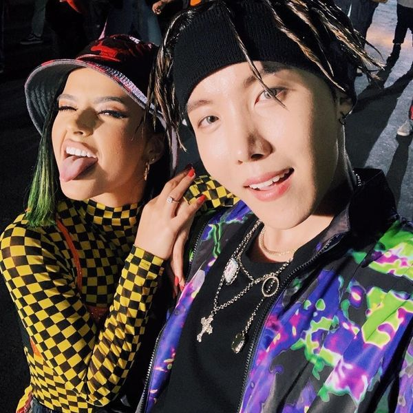 J-Hope and Becky G Make 'Chicken Noodle Soup'