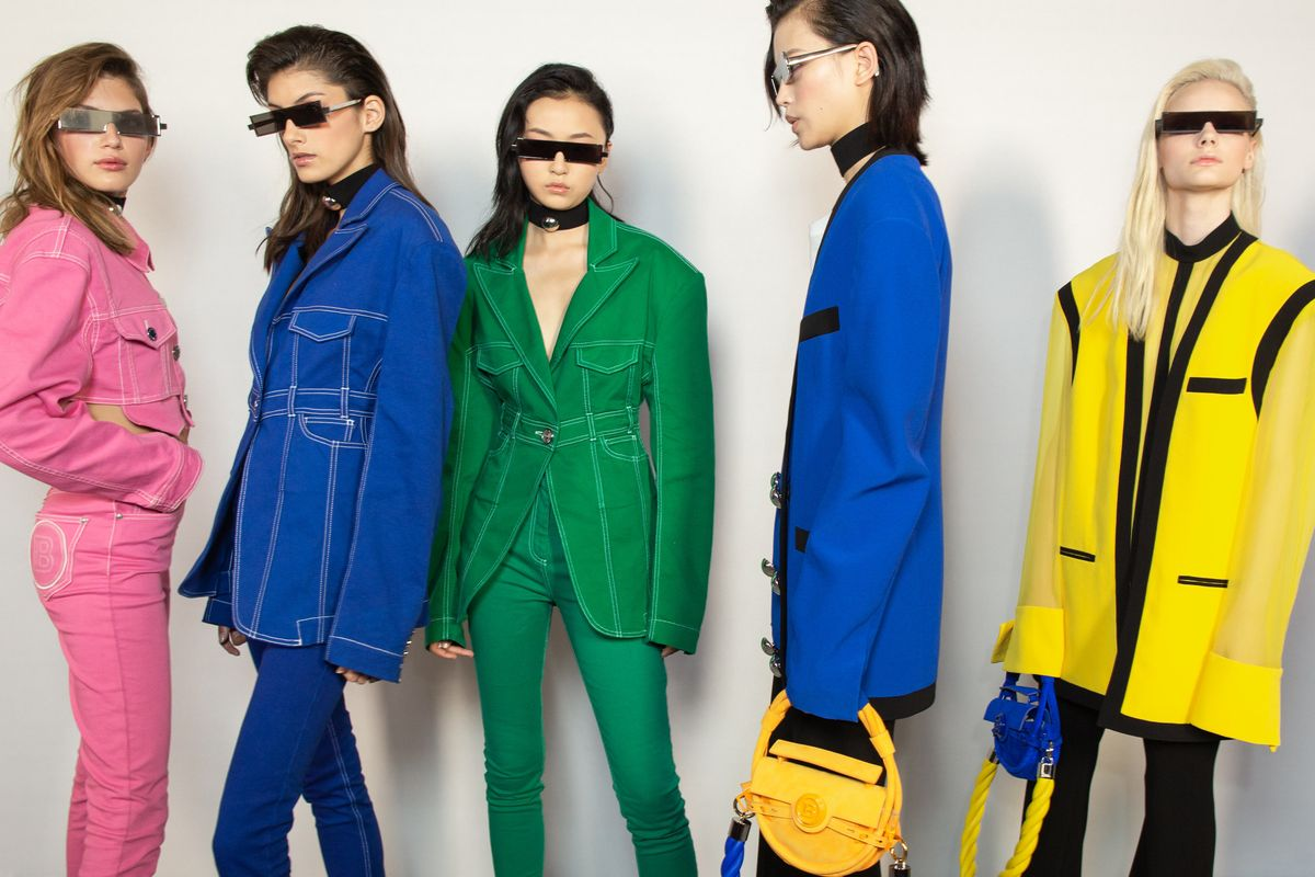 Balmain Showed 100+ Looks in a Rainbow of Colors