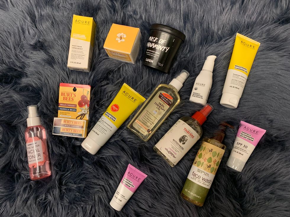 My College Skincare Collection