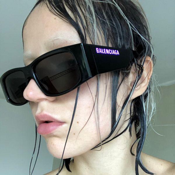 Balenciaga Drops LED Frame Sunglasses