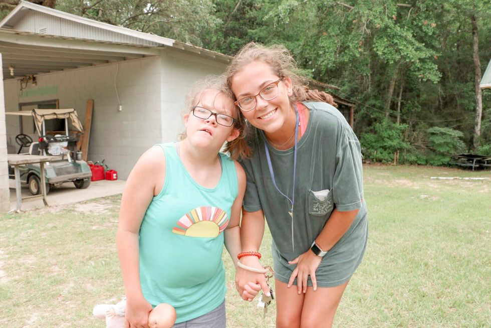 Working At A Camp For Children With Special Needs: