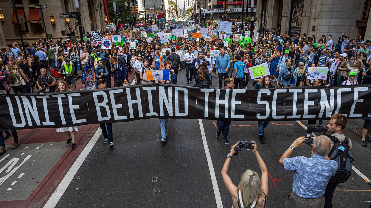 7.6 Million Join Week of Global Climate Strikes