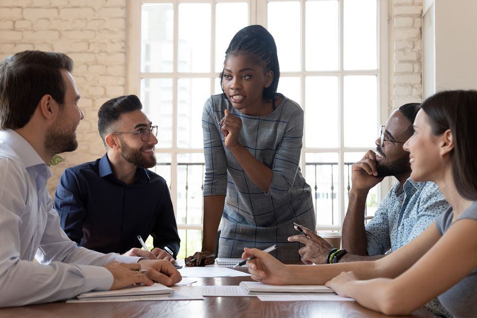 A good leader shares her passion with her employees