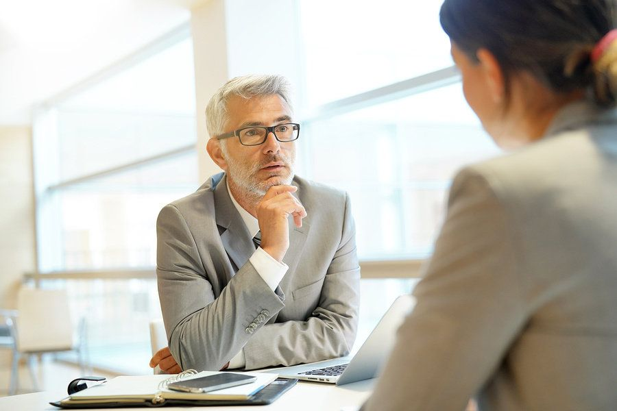 A leader demonstrates his good listening skills