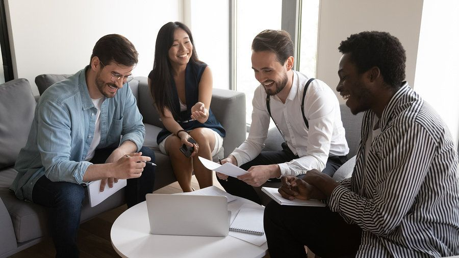 A good leader respects everyone during a meeting