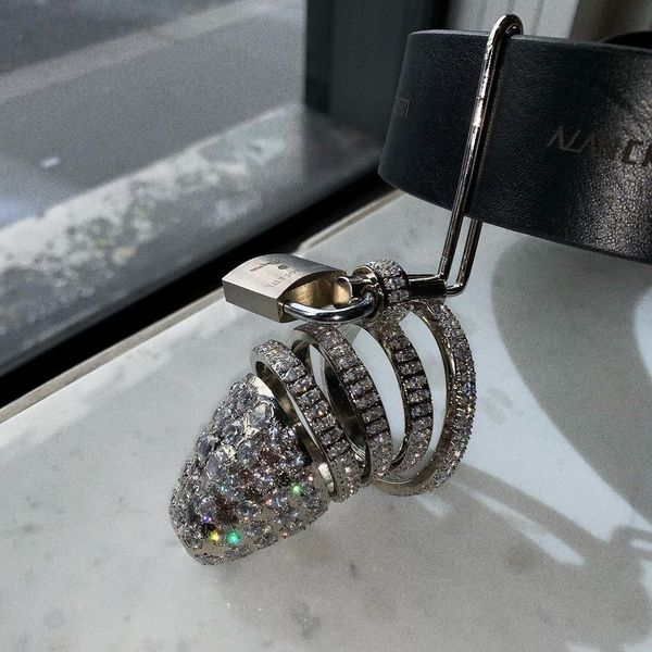 Alan Crocetti Debuts a Gem-Encrusted Chastity Cage