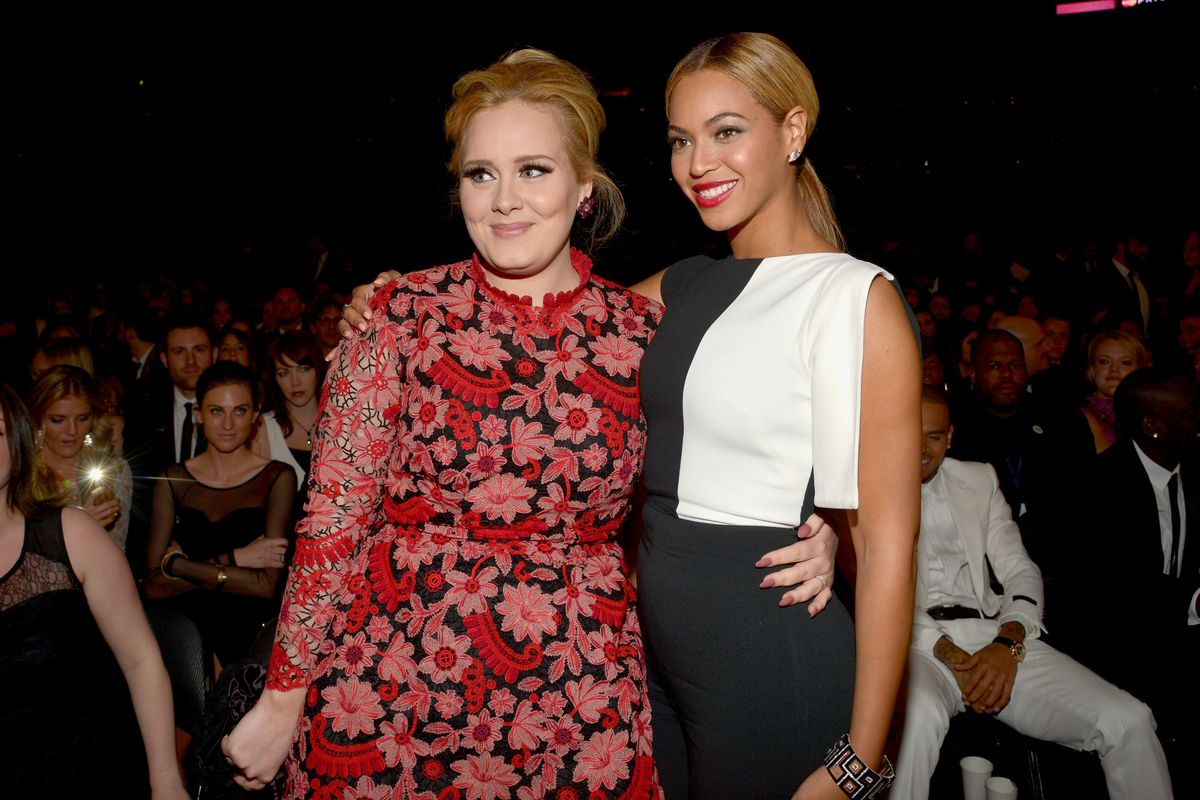 No, Beyoncé and Adele Didn't Record a Song Together