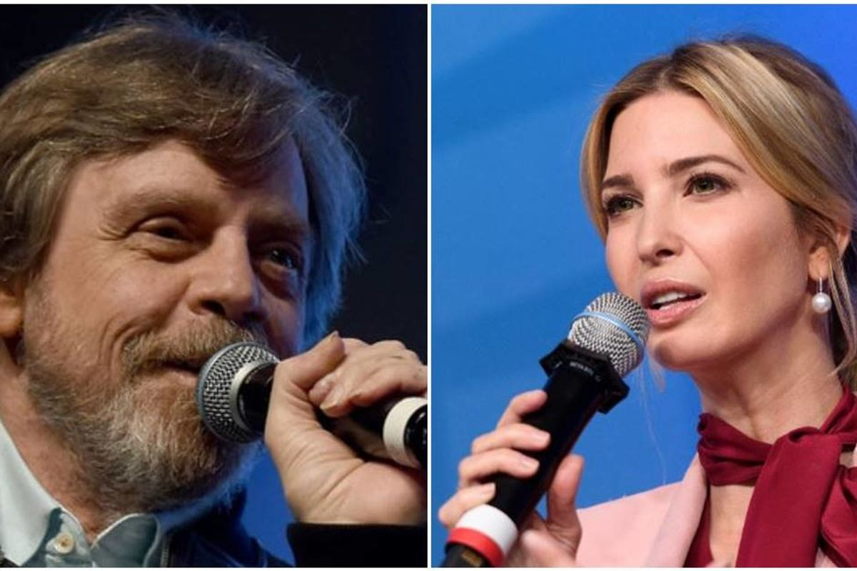Ivanka claimed the 'force is strong' in her family and Luke Skywalker wasn't having it