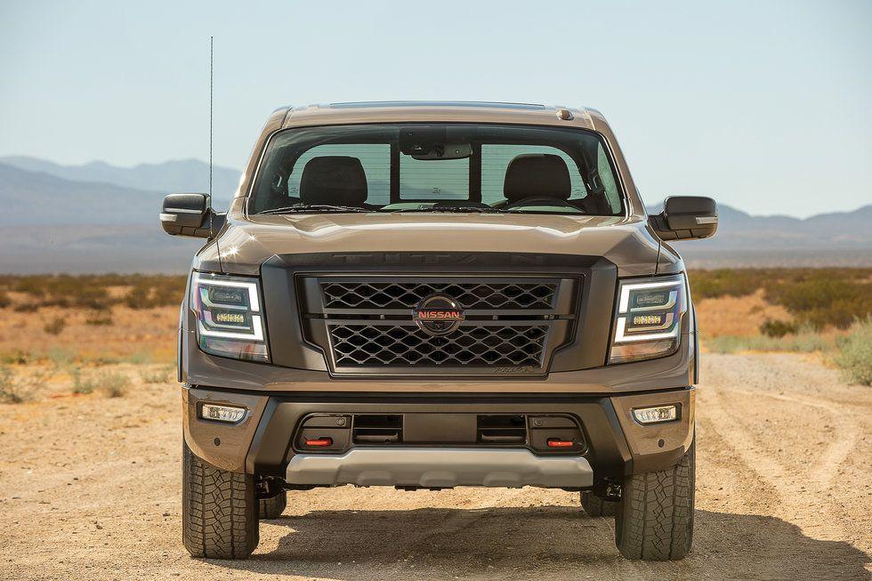 2020 Nissan Titan PRO-4X desert exterior grille black new