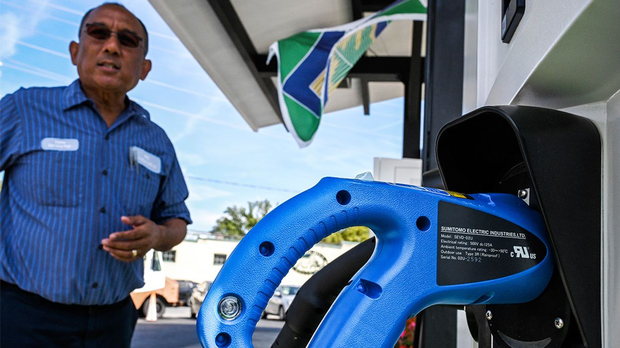 First U.S. Gas Station to Switch to All-Electric Charging Opens in Maryland