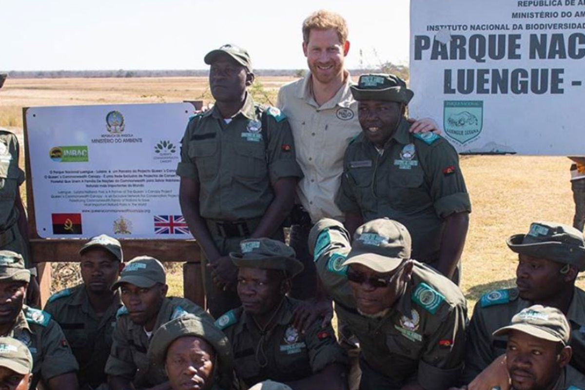 Prince Harry speaks out about conservation: 'We must overcome greed, apathy, and selfishness'