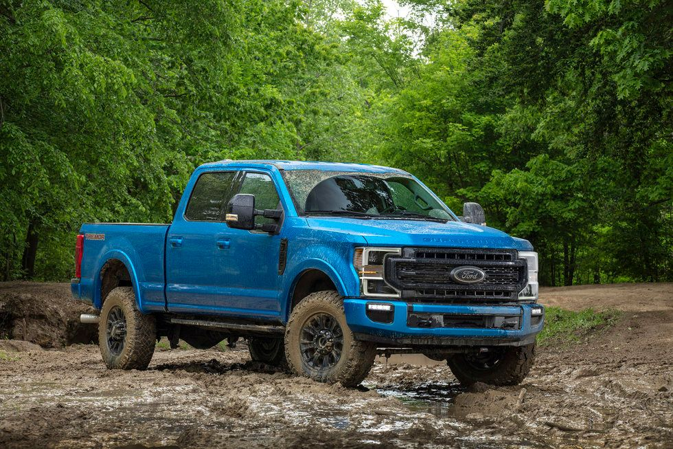 2020 Ford Super Duty Tremor exterior mud