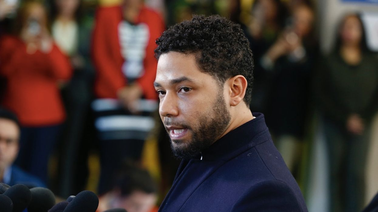 Jussie Smollett doesn't like being compared to sixth grader who lied about white boys cutting off her dreadlocks. Not one bit.