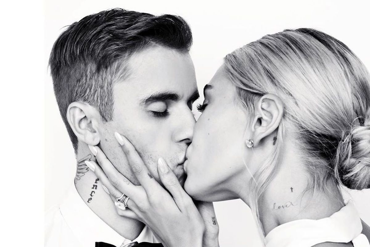 Justin and Hailey Debut Their Wedding Rings