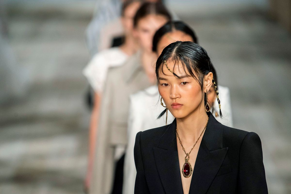 Alexander McQueen Delivered a Powerful Show on Community