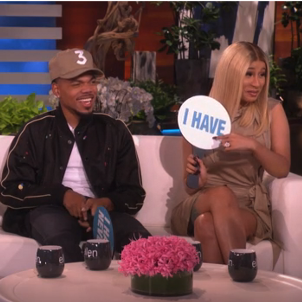 Watch Cardi B, Chance the Rapper and T.I. Play Never Have I Ever