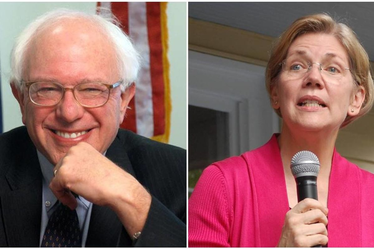 Elizabeth Warren sent dinner to Bernie Sanders' team and shared some very kind words after his heart surgery