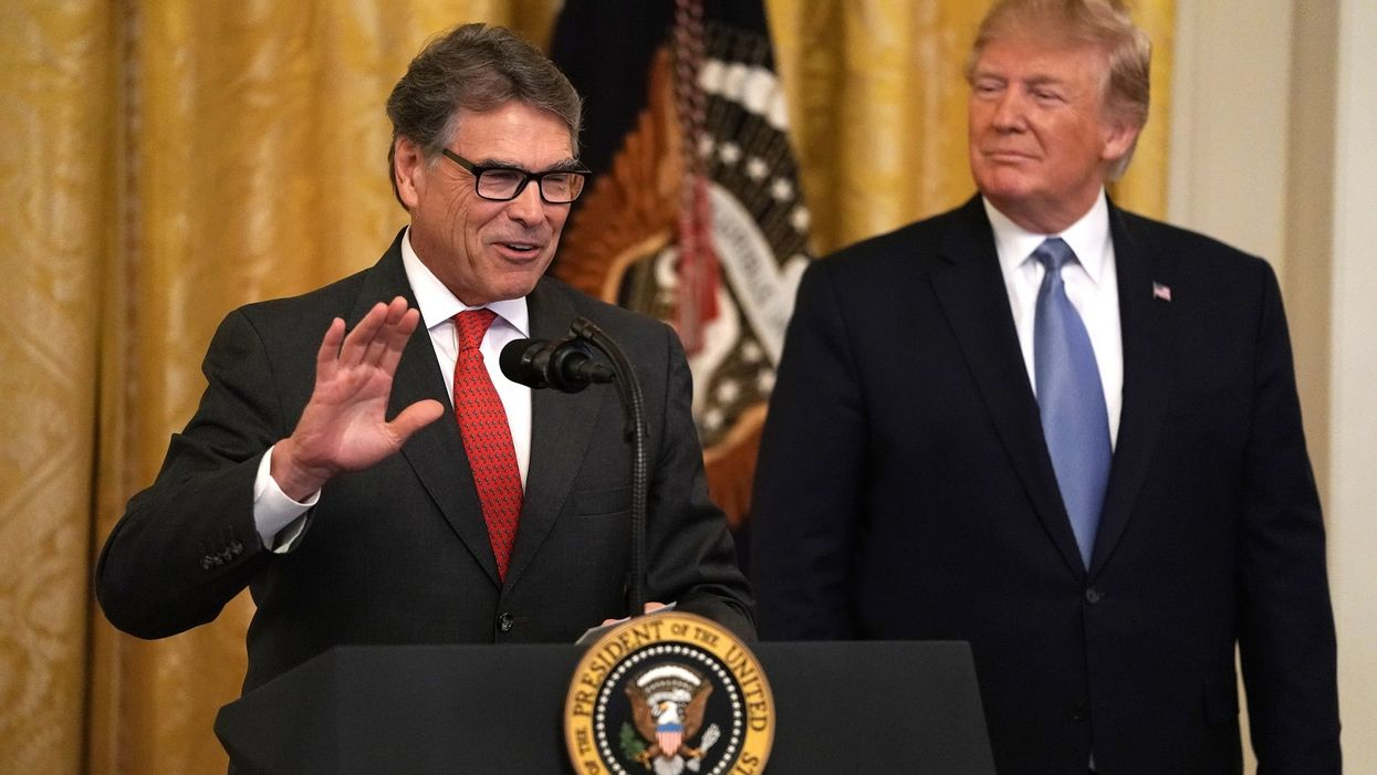 Energy Secretary Rick Perry reportedly plans to resign his post next month