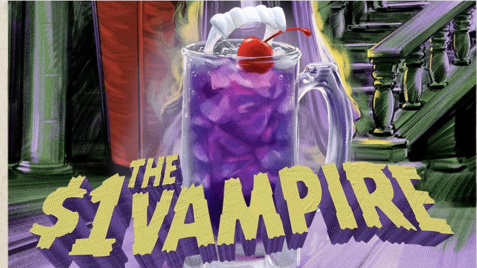 Applebee's $1 'Vampire Drink' Is The Perfect Cocktail If Your Bank Account Balance Is Scary Low
