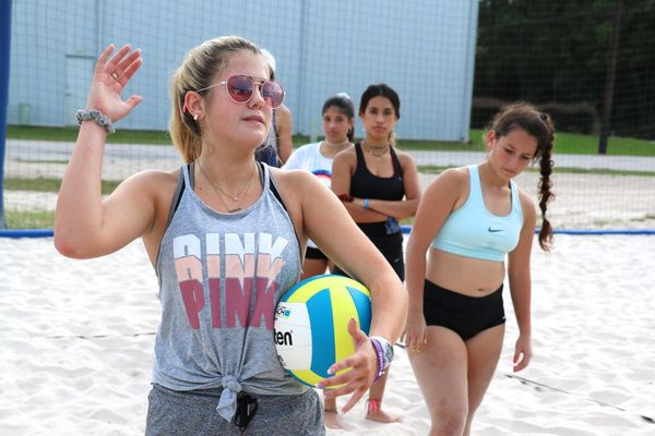 The Woodlands Making Sand Volleyball A Thing Vype