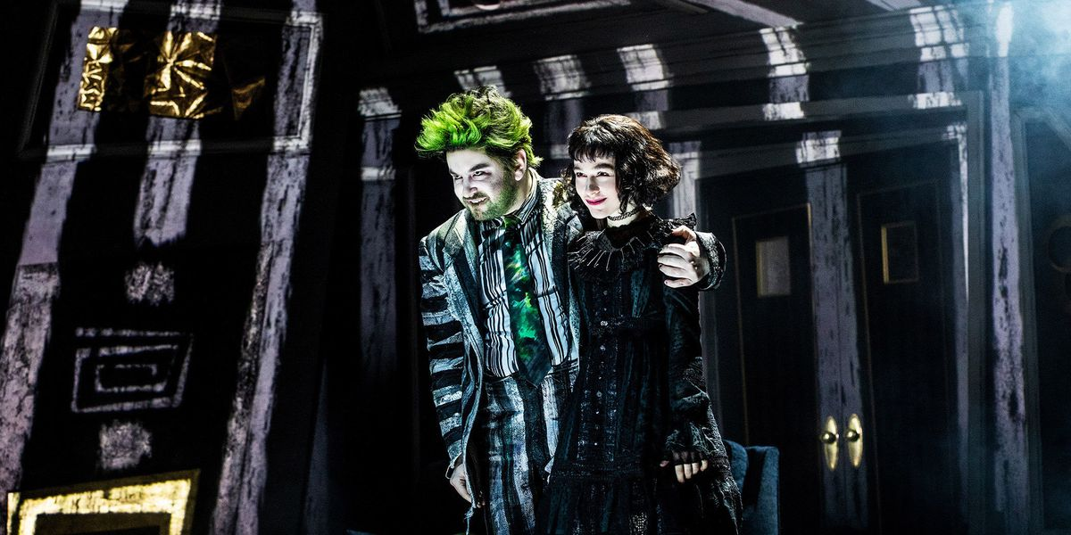 Beetlejuice On Broadway Is Breaking Tiktok Paper