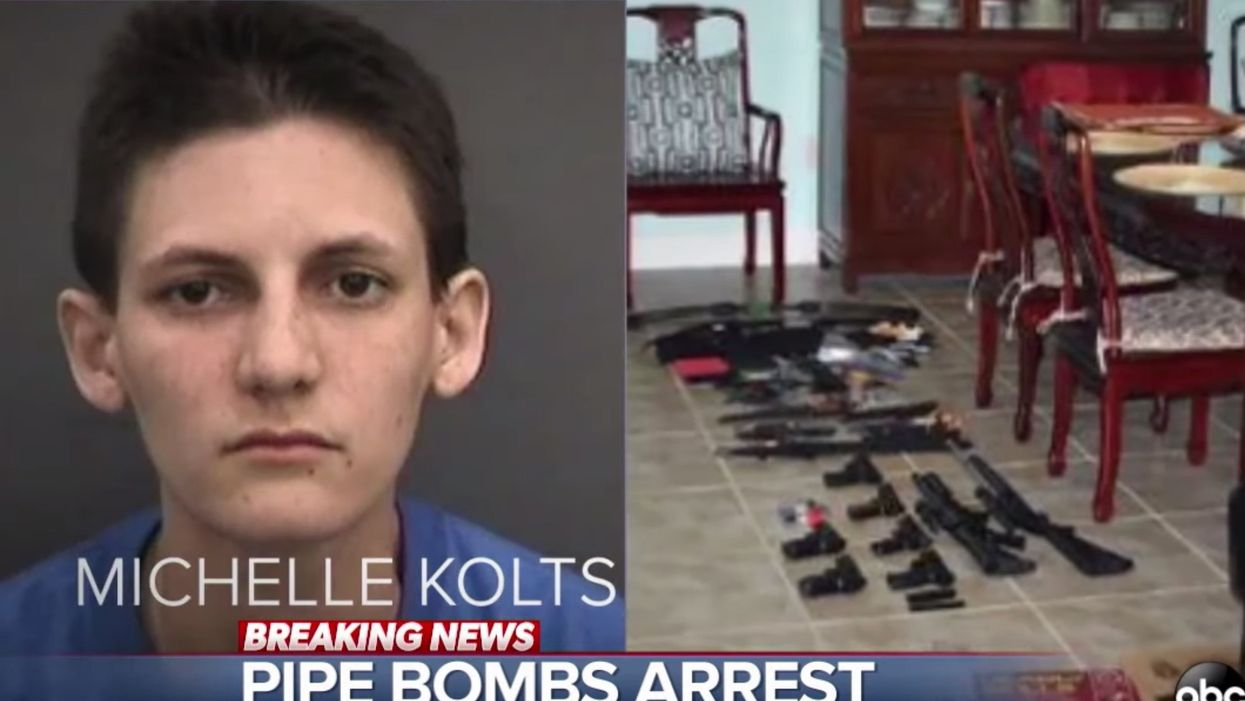 Parents call police on adult daughter — they discover pipe bombs that could have killed thousands