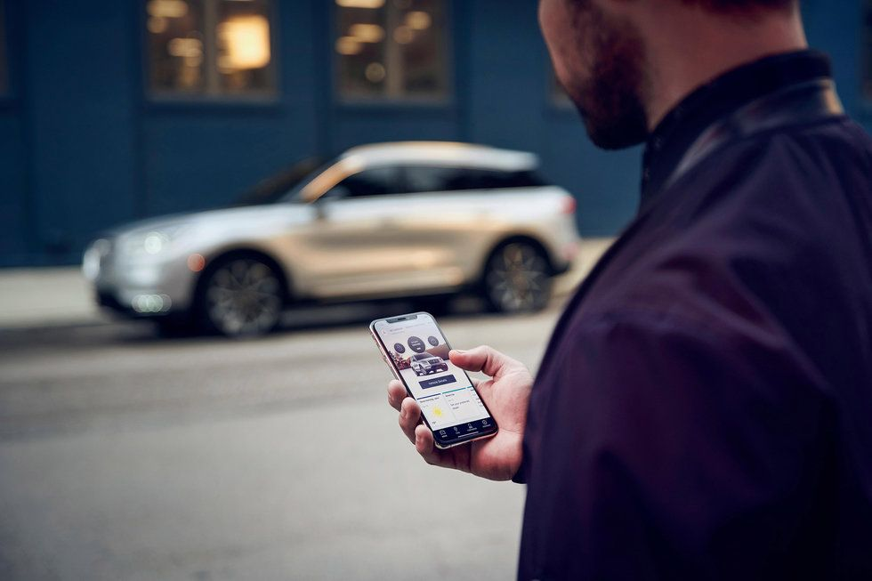 2020 Lincoln Corsair Phone As A Key