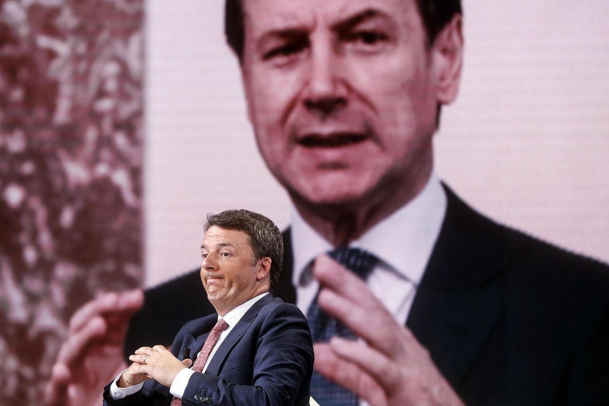 Tra Renzi e Conte è guerra di spie