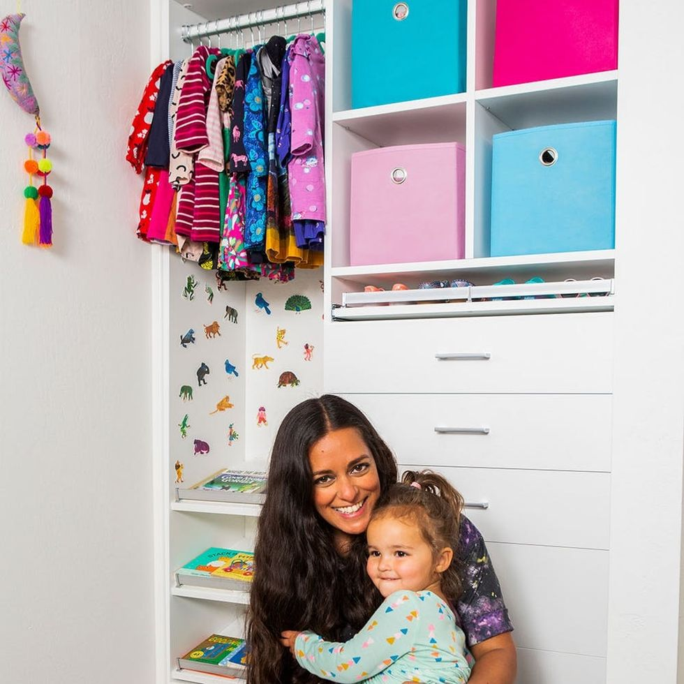 A Mini Closet Makeover That's Toddler-Tested, Mother-Approved