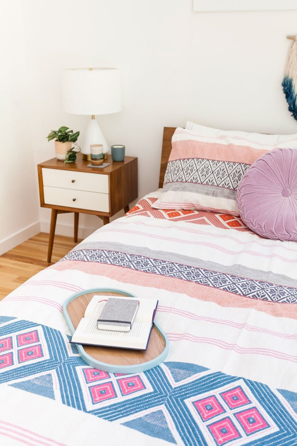 How To Make Your Bedroom Eco Friendly Boho And Minimalist All At The Same Time Brit Co
